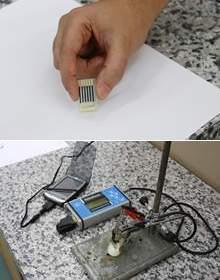Sensor construído com CD usado detecta contaminação no leite