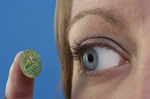 Resultado de imagem para olhos biônicos  implantes de retina