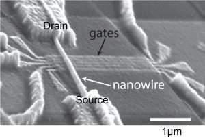 Bit de computador quântico é controlado com eletricidade