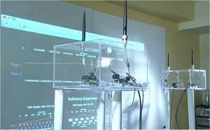 Rádio de mão-dupla dobra velocidade de redes <i>wireless</i>