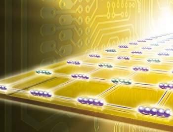 Antena atômica transmite informação quântica dentro de um chip