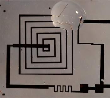 Circuitos eletrônicos biodegradáveis são reabsorvidos pelo corpo