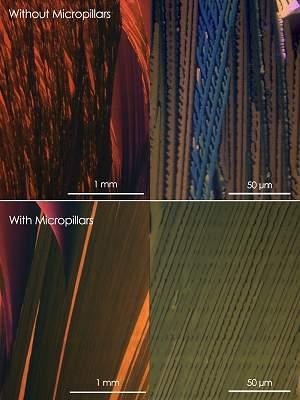 Técnica de impressão melhorar eletrônica orgânica em 10 vezes