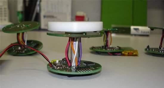 Protótipo de nó sensor desenvolvido pelos pesquisadores da Unicamp e UFAM para monitoramento ambiental.[Imagem: CTI]
