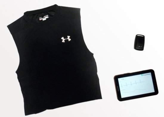 Camisa e tênis inteligentes monitoram atividade esportiva