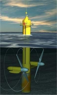 Turbinas submersas vão gerar energia a partir das ondas do mar