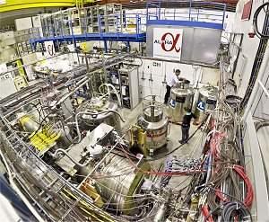 Átomos de antimatéria são capturados pela primeira vez