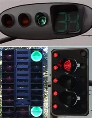 Semáforos de LED têm proteção contra apagões