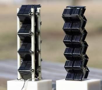 Energia solar em três dimensões