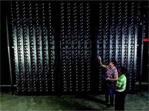 Maior bateria do mundo equaliza energia dos ventos