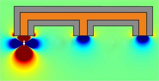Mangueira magnética transporta magnetismo para múltiplos locais