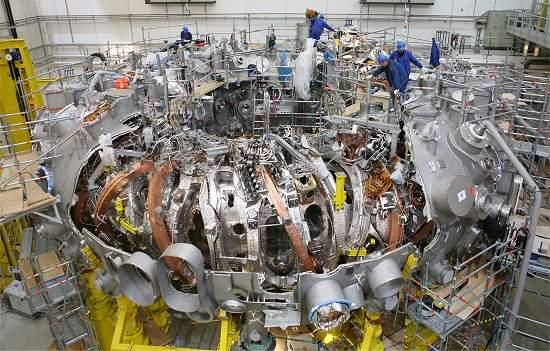 A sorte está lançada: Reator de fusão nuclear é selado