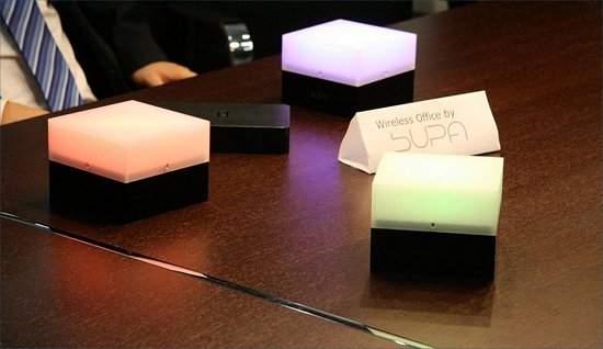 Lâmpadas e notebooks: saem os fios, entram as antenas