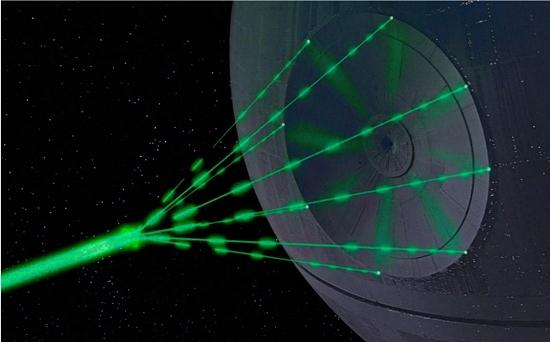 Superlaser da Estrela da Morte pode ser construído com diamante