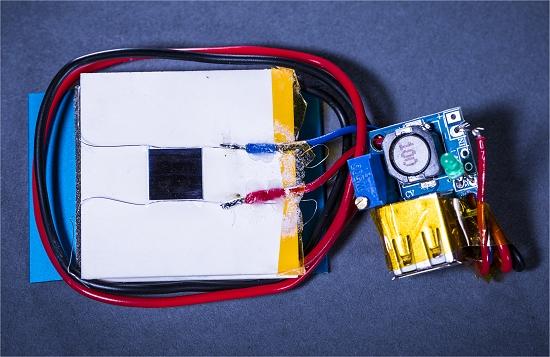 Carregador de celular a laser