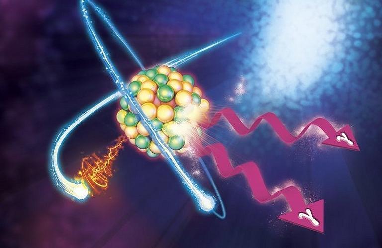 Energia nuclear sem radiação gerada com disparo de elétrons