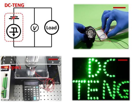 Nanogerador inovador produz eletricidade continuamente