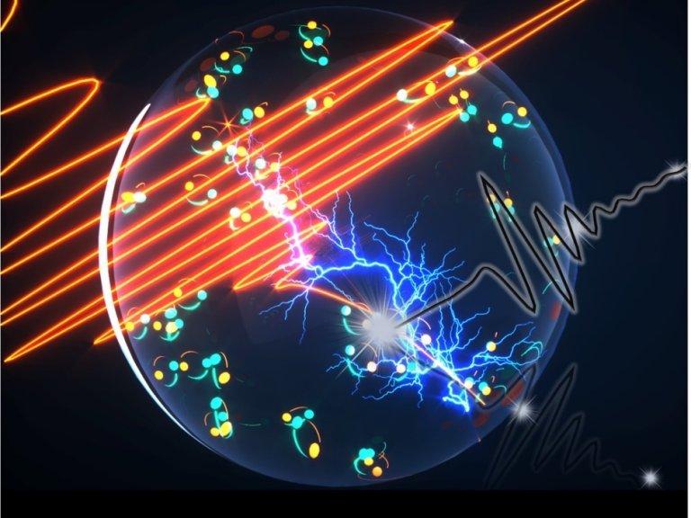 Acelerar corrente em supercondutores produz luz proibida