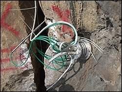 Rede de sensores sem fios monitora montanha sujeita a deslizamentos
