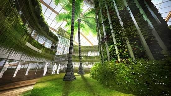 Arca flutuante autossustentável é idealizada por arquitetos russos