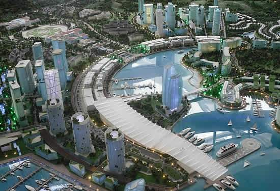 Metropóle inteligente na Ásia custará menos que Copa do Mundo