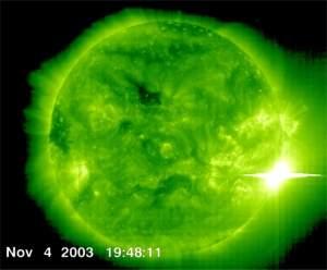As erupções solares podem destruir a Terra?