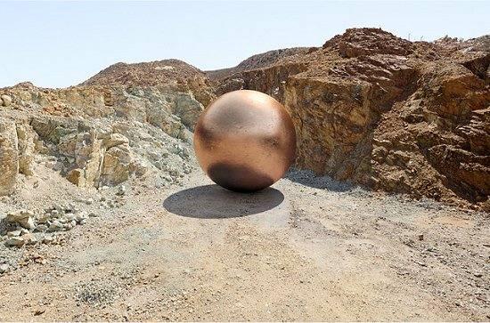 Minas de cobre e suas esferas metálicas que valeriam bilhões