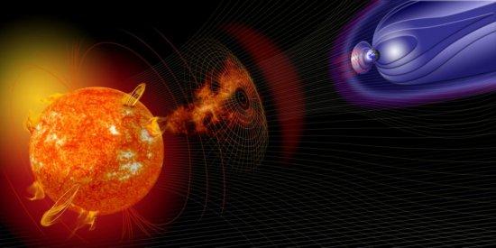 Clima espacial: Tempestades solares previstas 24 horas antes de atingir a Terra
