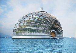 Casas flutuantes independentes podem aliviar cidades