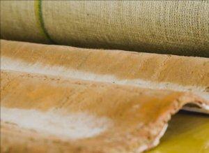 Telha sustentável feita com fibras da Amazônia