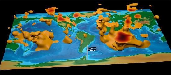 Começa a ser construído mapa 3D do interior da Terra 010125170406-mapa-interior-terra