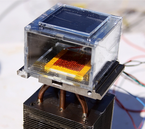 Aparelho retira água potável do ar usando apenas energia solar