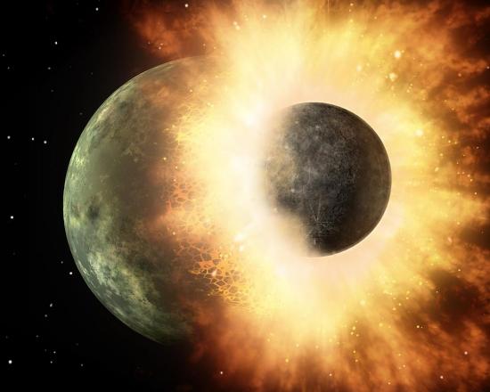Chuva de rochas tenta explicar formação da crosta da Terra