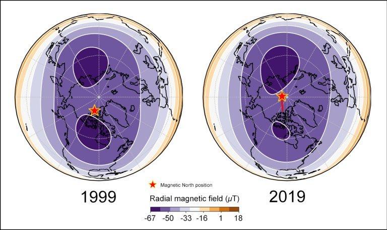Magnetismo Terrestre - Origem - Página 2 010125200527-mudanca-norte-magnetico