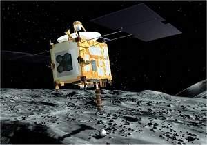 Sonda dada como perdida está de volta com amostra de asteroide