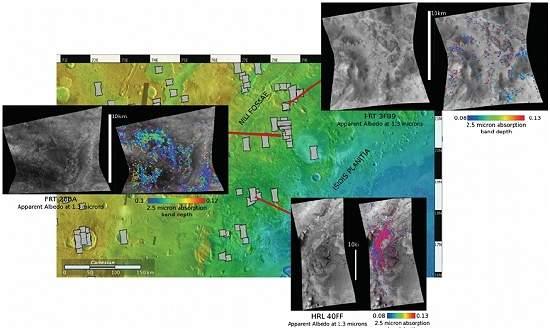Rochas de Marte podem ter fósseis de 4 milhões de anos