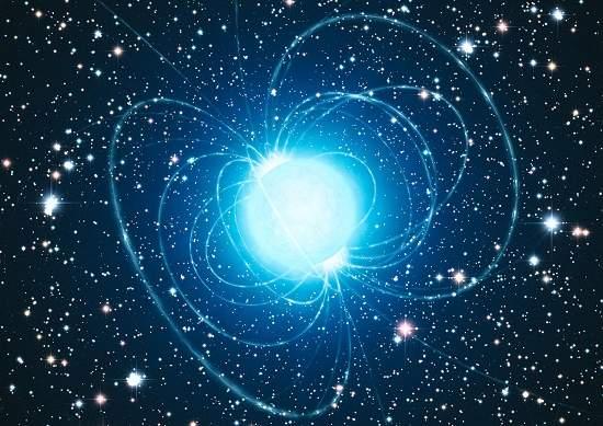 Estrela magnética desafia teoria dos buracos negros