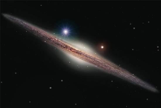 Astrônomos descobrem uma nova classe de buracos negros