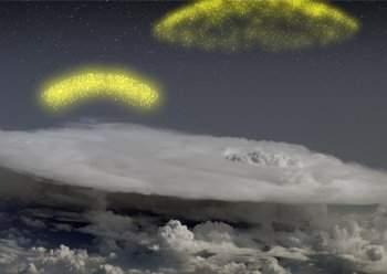 Telescópio flagra tempestades ejetando antimatéria para o espaço