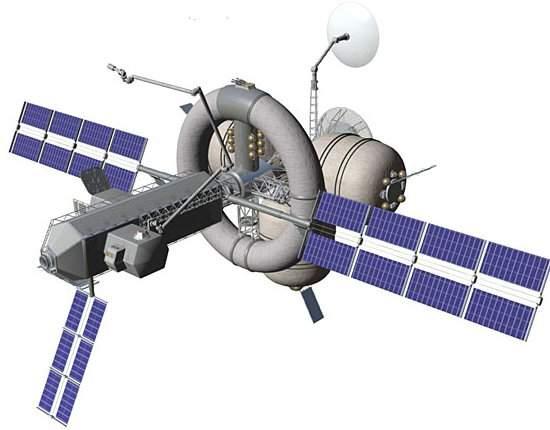 NASA apresenta conceito de nave espacial
