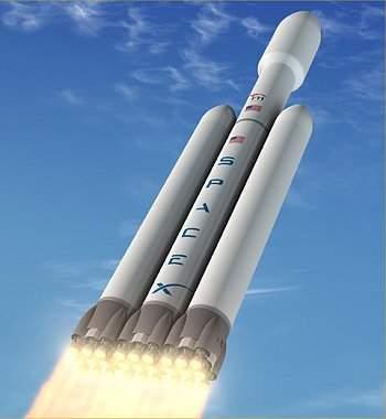 SpaceX anuncia a construção do foguete mais potente do mundo