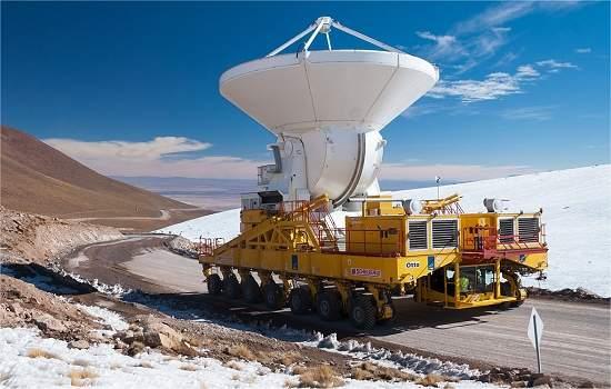 Radiotelescópio ALMA está pronto para iniciar fase científica