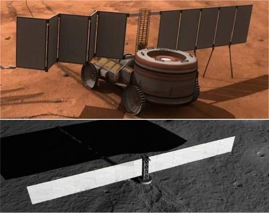 NASA construirá primeira usina nuclear para a Lua e Marte