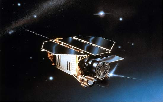 Os quatro espelhos, com 83 centímetros cada um, bem como toda a estrutura externa do telescópio ROSAT, deverão sobreviver inteiramente à reentrada na atmosfera.[Imagem: DLR]