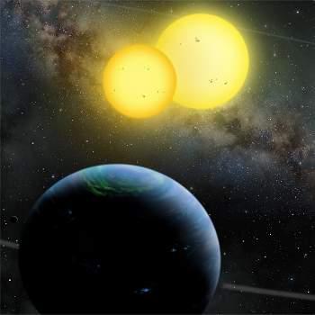 Planetas com dois sóis são comuns