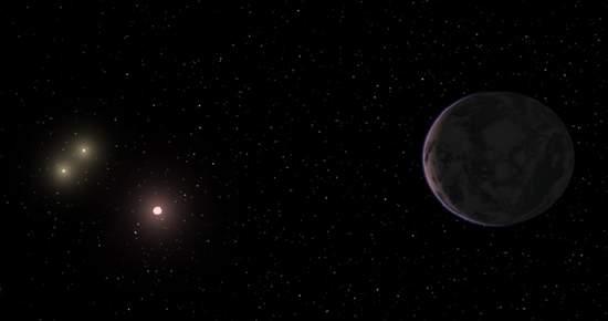 Planeta com três sóis pode ser habitável