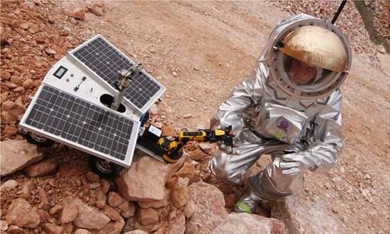 Roupa espacial marciana pode ser alugada para pesquisas