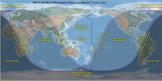 Trânsito de Vênus ajudará a encontrar exoplanetas habitáveis