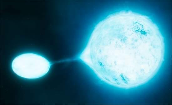Estrelas mais brilhantes do Universo vivem em pares