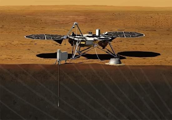 NASA anuncia nova missão para estudar interior de Marte